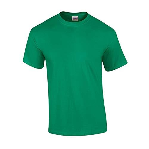 Gildan - T-Shirt 'Ultra Cotton' / Kelly Green, 5XL -