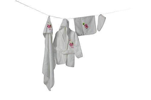 MyHoppi - Juego albornoz capucha bebés niños pequeños