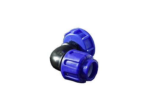 IBC Adaptateur PE Angle pour connecter des Réservoir d'eau 25 mm
