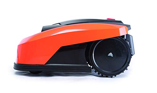 YARD FORCE X60i Mähroboter mit App-Steuerung – Selbstfahrender Rasenmäher Roboter mit Regensensor – Akku Rasenroboter für bis zu 600m² Rasen & 40% Steigung 28 V, schwarz/orange - 7