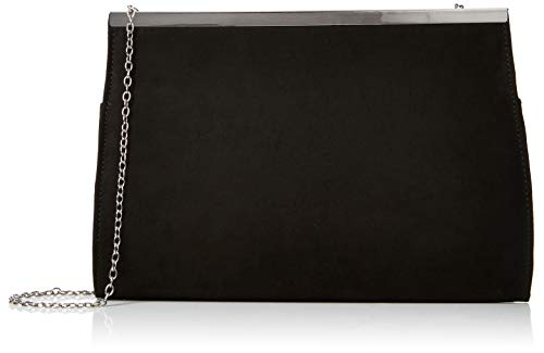 New Look Angelina, Pochettes femme, Noir (Black), 6x19x28 cm (W x H L)