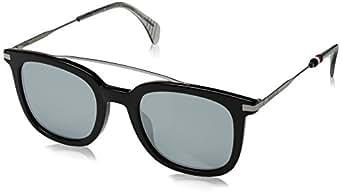 Tommy Hilfiger Herren Sonnenbrille TH 1515/S T4 807, Black/Gy Grey, 49