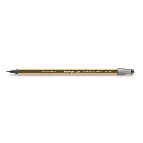 Staedtler–Noris Stylus 18021–Blister 1Bleistift Graphit Wopex HB gelb/schwarz mit...