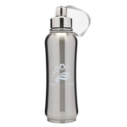 Hexiansheng Thermoskanne thermosflasche,Big Belly Tasse 293 * 75mm Edelstahl Isolierung und auslaufsicher - Ringe Big Belly
