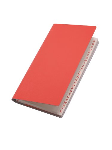 paperthinks-recycled-leather-9-x-13cm-128-page-long-address-book-torrid-orange