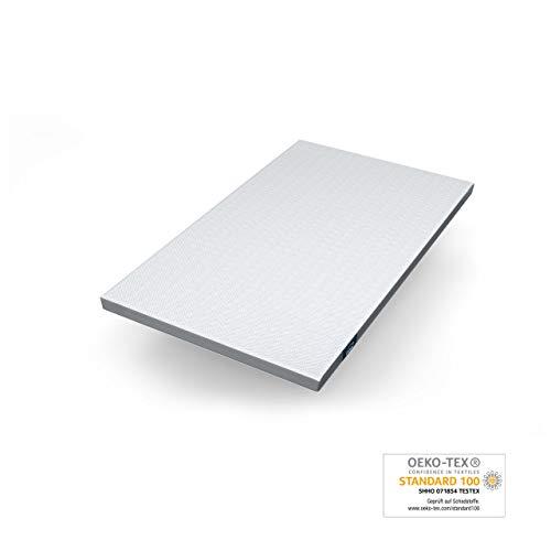 Genius Eazzzy Topper (Größe 120 x 200 x 7 cm) als Matratzenauflage für Matratzen & Boxspringbetten | Viskoelastischer Matratzentopper geeignet für Allergiker (weitere Größen erhältlich)