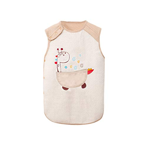 Zhhlaixing Winter Baby Gesteppt Weste Schlafen Tasche Sack Kind Schlummern Taschen - Taste Gilet Ultraleicht Atmungsaktiv Schlafen Kleid Anti Kick - Schlafen Kleid