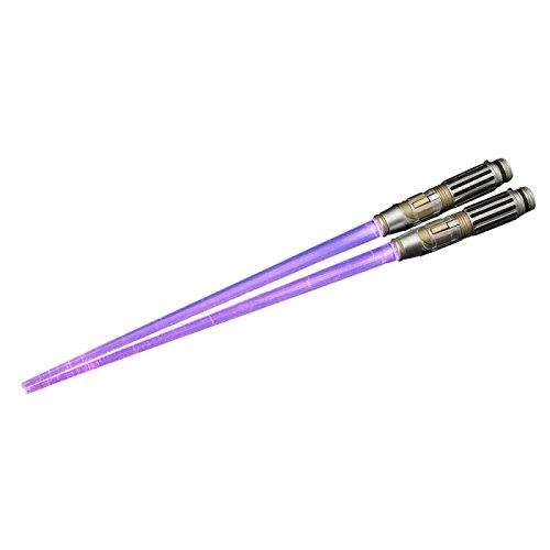 star images imágenes de las estrellas de Star Wars Mace Windu Light Up Versión Palillos