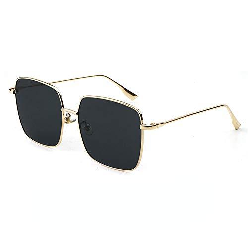 Yiph-Sunglass Sonnenbrillen Mode Sonnenbrille Für Unisex Punk Stil Sonnenbrille Kleine Metallrahmen Trimmen Die Sonnenbrille Weibliche Gradient Ozean Farbe Sonnenbrille