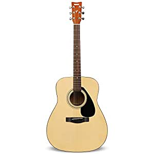 Yamaha F310 Guitare Acoustique Folk Nature – Guitare folk adultes 4/4 – Guitare d'étude Dreadnough