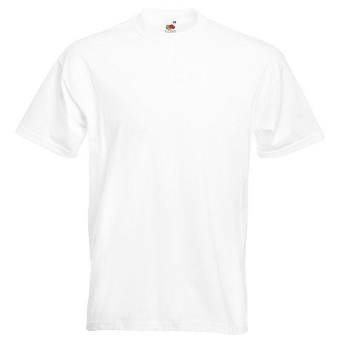 Fruit of the Loom Super Premium T-Shirt Weiß