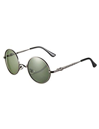 Kinder Sonnenbrille Mode retro kreisförmigen Rahmen Sonnenbrille Baby Anti - ultravioletten Sonnenbrillen für Jungen und Mädchen ( Farbe : 1 , größe : Kleine )