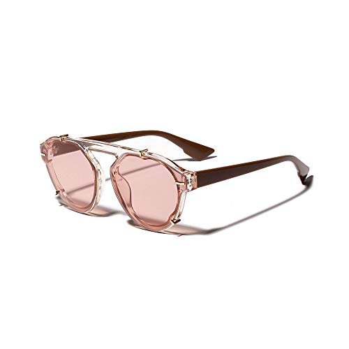 PinkLu GläSer Damen Retro-Stil Neues Design Sonnenbrillen Schatten Urlaub Am Meer Beliebt Mode Temperament Sommer Neuer HeißEr Verkauf Schwarze WeißE Rosafarbene Brille