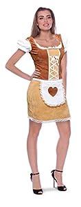 Folat 63392 - Disfraz para mujer, multicolor