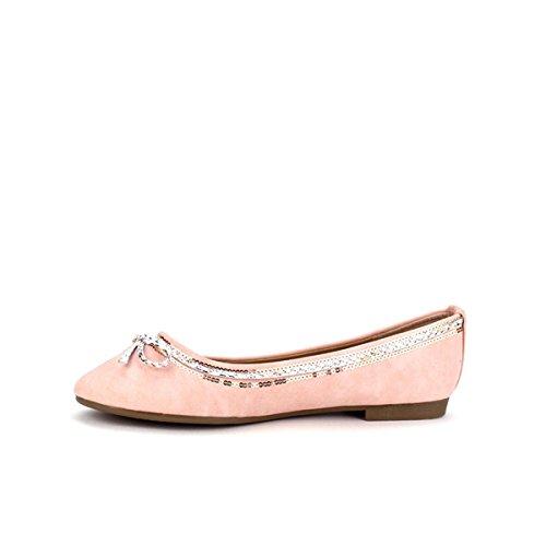 Cendriyon Ballerine Rose fDM Moda Chaussures Femme Rose