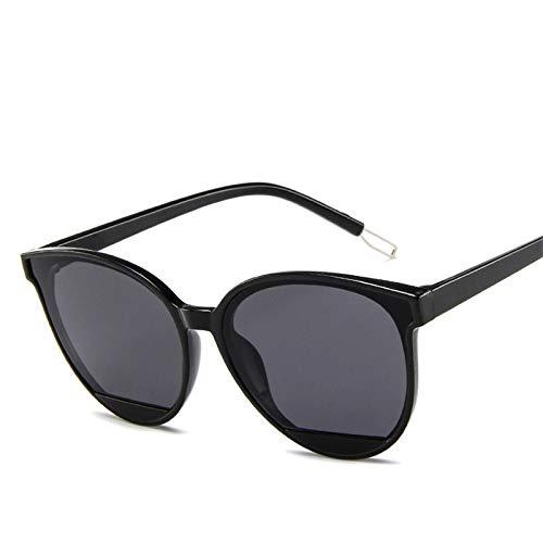 WWVAVA Sonnenbrillen Neue Ankunft 2019 Art- und Weisesonnenbrille-Frauen-Weinlese-Metallbrillen-Spiegel klassischer Weinlese UV400, C01