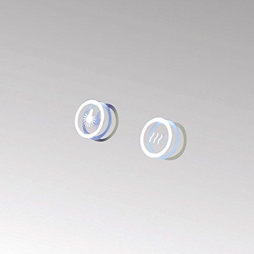 HOKO® LED Bad Spiegel beleuchtet mit Digital Uhr  ANTIBESCHLAG SPIEGELHEIZUNG Fulda Bild 3*