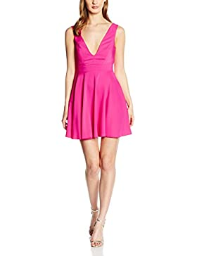 New Look Damen Kleid Plunge Front