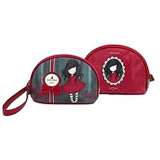 SANTORO GORJUSS Niña con lazo Rojo – Bolso de mano 26x18x9cm Original