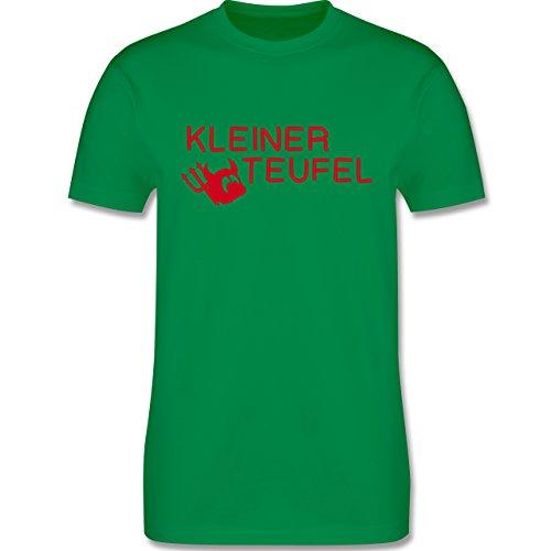 Sprüche - Kleiner Teufel - Herren Premium T-Shirt Grün