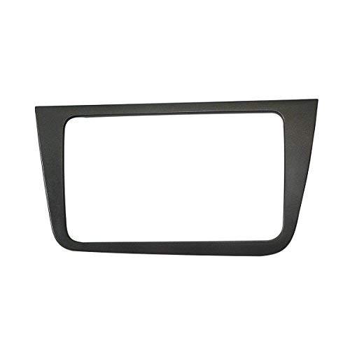 MAXIOU Doppel-Din Autoradio Fascia für SEAT Altea Stereo Frontplatte Rahmen Panel Dash Mount Trim Kit Adapter Frontblende (Linkslenker) Stereo Dash Mount