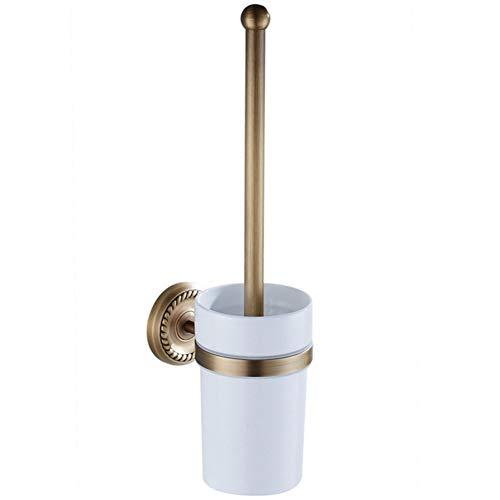 Kirsche Antik Messing (LCBLC WC-Bürsten & Halter Antik Messing Kupfer Wc-Bürstenhalter Europäischen Stil Carving Wc-Bürstenhalter)