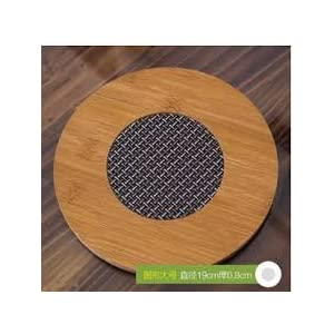 Zhejiang PVC Insulated Bamboo Placemat Heat Pad, Multicolour Best Online Shopping Store