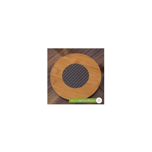 Zhejiang PVC Insulated Bamboo Placemat Heat Pad, Multicolour
