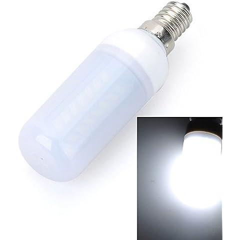 YangR* E14 10W 1000 lm 3500K/6500K 56 x 5730 SMD LED Warm/Lampada a luce bianca fredda (AC 220~240V) , bianco caldo-e14