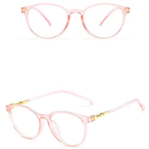 NINGSANJIN Sonnenbrille Unisex Stylish Square Brillen ohne Rezept. Brillen Klarglas Brillen PK