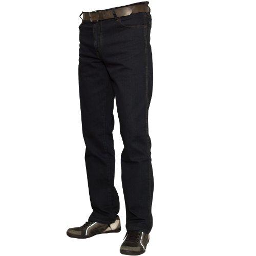 Wrangler Herren Texas Jeans, Blau-Schwarz, 46W / 34L