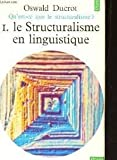 qu est ce que le structuralisme en 5 tomes