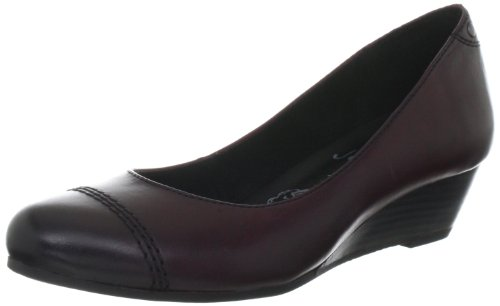 Jana Fashion 8-8-22300-29 Damen Klassische Pumps Rot (BORDEAUX 549)