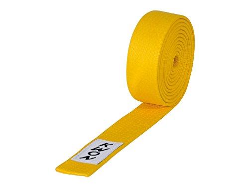 KWON Budogürtel 4 cm breit 260 gelb