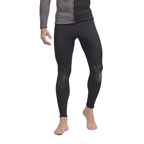 SANANG Herren Surfen Neoprenanzug Hose 3MM Neopren Tauchen Hautausschlag Schutzhosen Anti-UV schützen Badeanzug Anti-Jellyfish Schnorcheln Trunks (L)