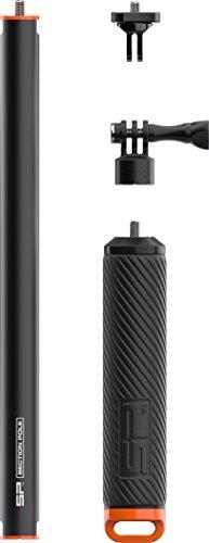 SP-Gadgets GB pro Teleskopstange Unisex Erwachsene, Unisex Erwachsene, Go Pro, Schwarz/Orange, 24 Inches -