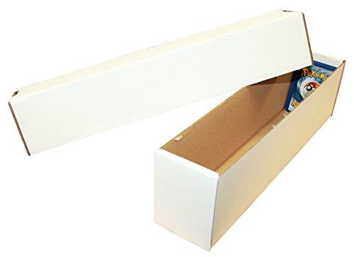 TCG Aufbewahrungsbox (weiß, klein) für ca. 1000 Karten Aller Größen (1000-karte Aufbewahrungsbox)