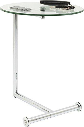 Kare 70629 Easy Living - Mesa supletoria de cristal (62 x 51 x 46 cm)