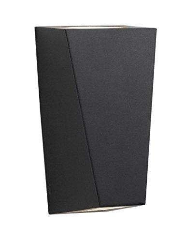 searchlight-double-led-flush-outdoor-wall-spot-light-fitting-ip65-5600-2bk-black