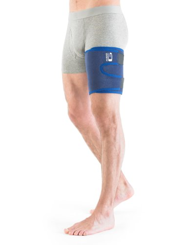 NEO G Thigh & Hamstring Support - Medical Grade Quality HELPS quadriceps and hamstring strains, sprains, pain muscle overuse, rehabilitation - Everyday or sporting injuries - ONE SIZE Unisex Brace