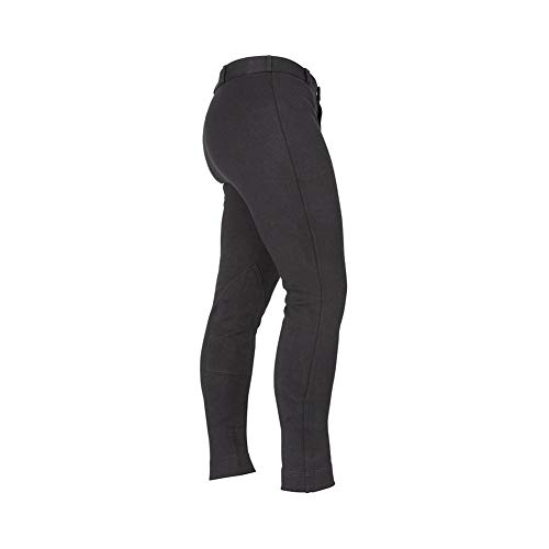 Shires Gents Saddlehuggers Jodhpurs: Black: 36 by Shires