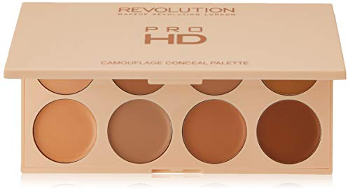 Revolution Ultra Pro HD Camouflage Palette von Korrektoren Light Medium