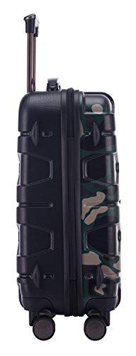 HAUPTSTADTKOFFER - X-Kölln - Handgepäck Hartschalen-Koffer Trolley Rollkoffer Reisekoffer, TSA, 55 cm, 50 Liter, Camouflage matt - 6