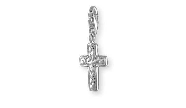 MELINA Charms Pendentif Croix Argent 925