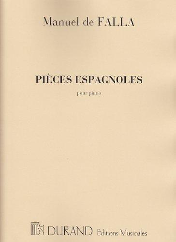 Pices espagnoles - Piano