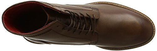 Base London Knole, Bottes Rangers homme Marron (Waxy Brown)