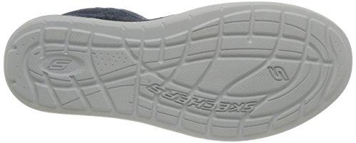 Skechers Landen Buford, Chaussures de Ville Homme Bleu (Marine)