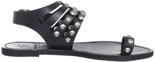 Black Lily cool sandal, Sandali donna Nero (Schwarz (black))