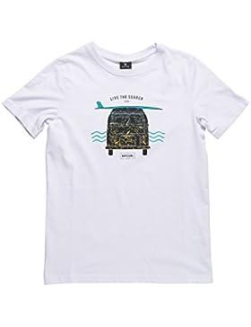 Rip Curl Multi Van–Camiseta de Manga Corta para Niño, Niño, Multi Van, Optical White, FR : XL (Taille Fabricant...