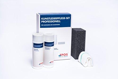 POS Kunstlederpflege-Set Professionell für Ihr Sofa, 2x150 ml